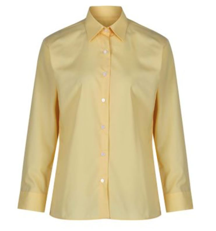 Girls Gold Blouses - Long Sleeve (Twin Pack) | DANCERS